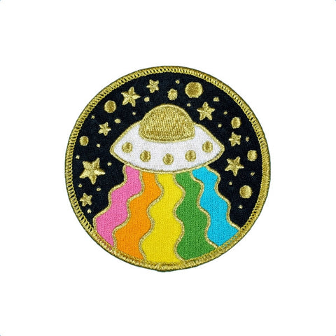 Space Out - Embroidered Patch