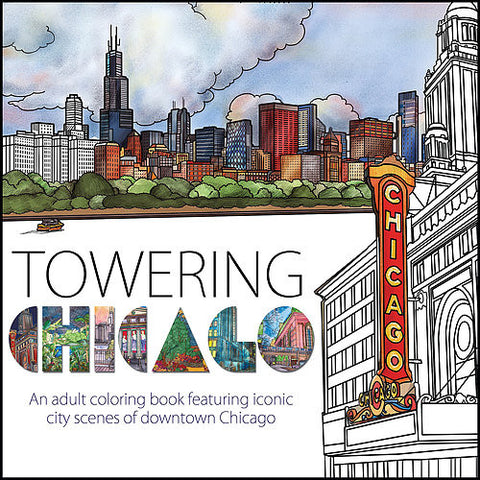Towering Chicago Coloring Book
