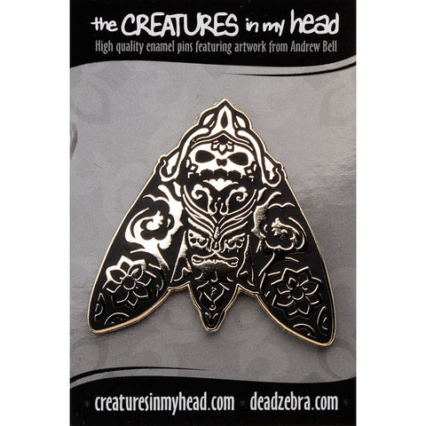 Morimoth Enamel Pin by Andrew Bell