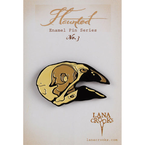 Haunted No. 3 Enamel Pin by Lana Crooks