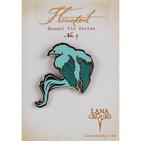 Haunted No. 4 Enamel Pin by Lana Crooks