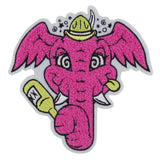 Pink Elephant Patch by JLed
