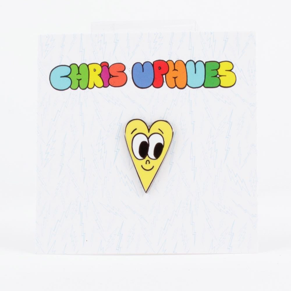 Yellow Heart Pin