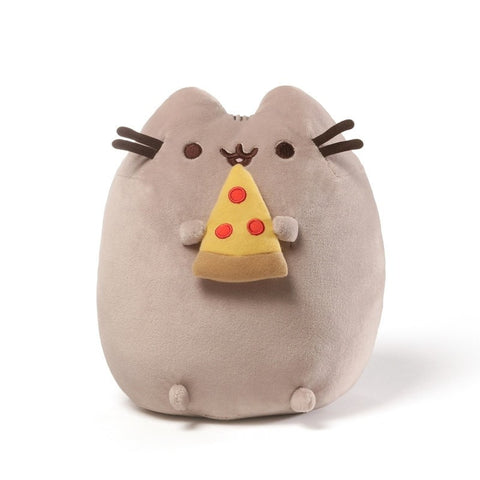 Pusheen with Pizza - 9.5 Inch Plush