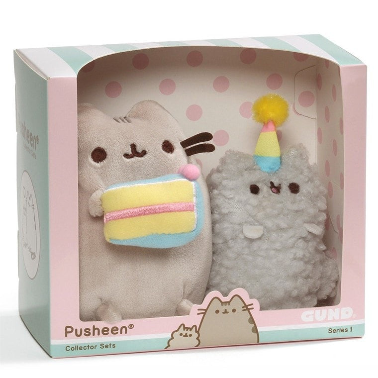 Birthday Pusheen Collectable Set