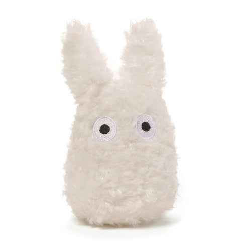 Fluffy White Totoro - 4.5 Inches
