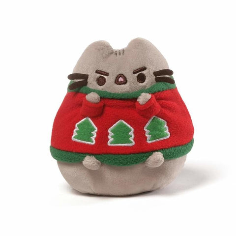 Holiday Sweater Pusheen - 4.5 Inches