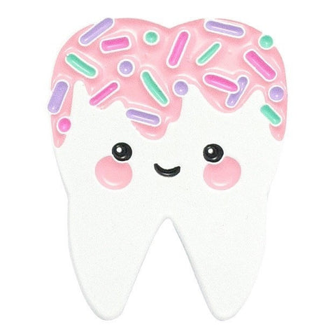 Pink Sweet Tooth Enamel Pin