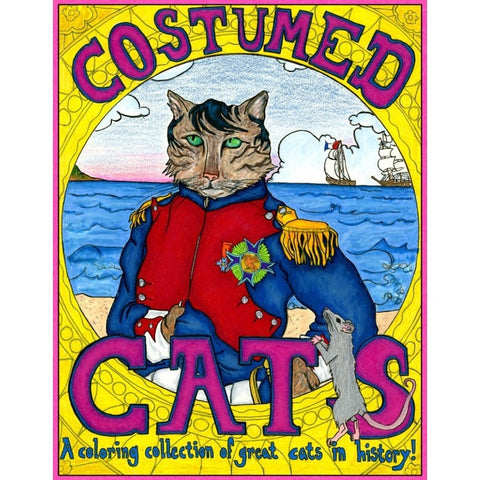 Costumed Cats Coloring Book