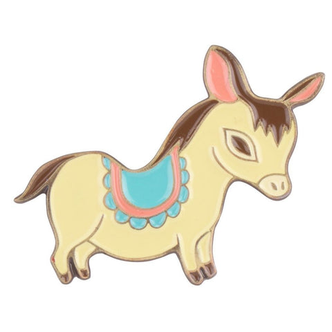 Burro Enamel Pin by boygirlparty