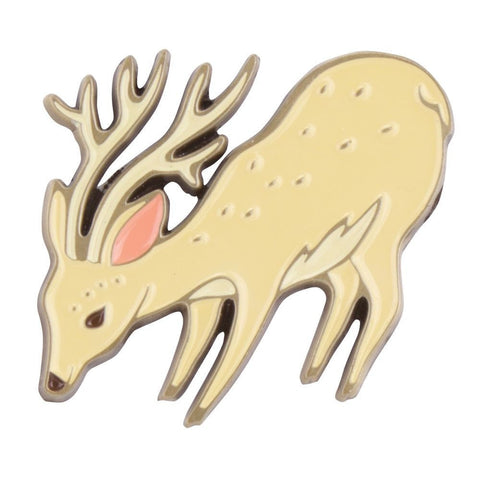 Deer Enamel Pin by boygirlparty