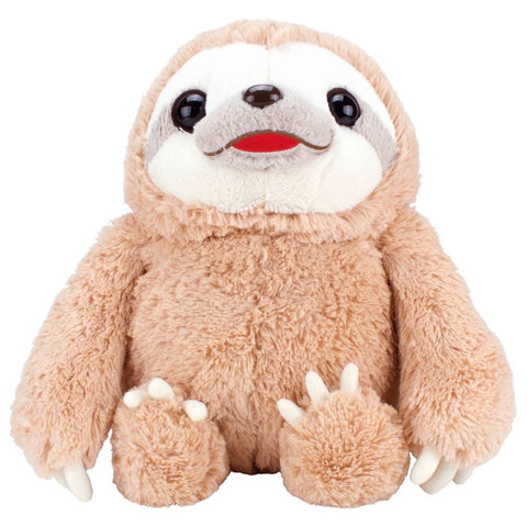 Namakemono no Mikke & Friends Large Sloth Plush - Brown