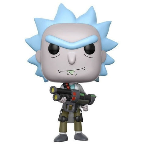Weaponized Rick - Rick & Morty - POP! Animation