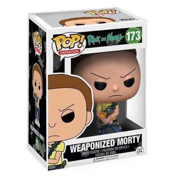 Weaponized Morty - Rick & Morty - POP! Animation