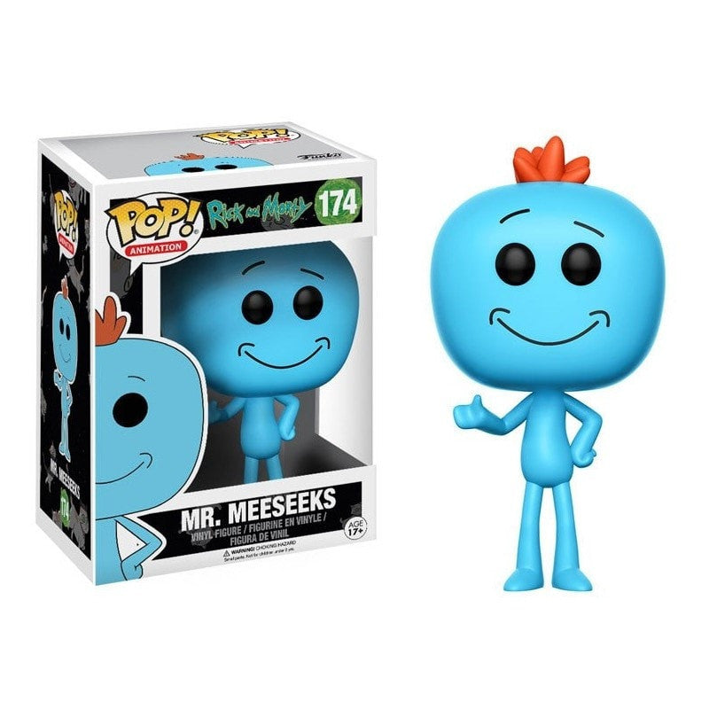 Mr. Meeseeks - Rick & Morty - POP! Animation