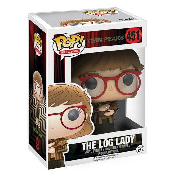 Log Lady - Twin Peaks - POP! Televison