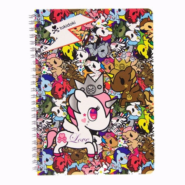 Unicorno Spiral Notebook