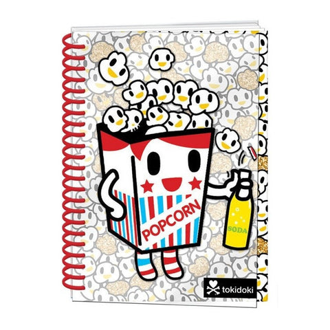 Tokidoki Popcorn Notebook