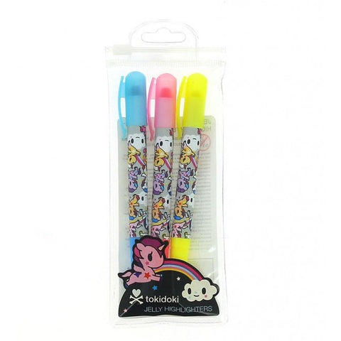 Tokidoki Jelly Highlighters
