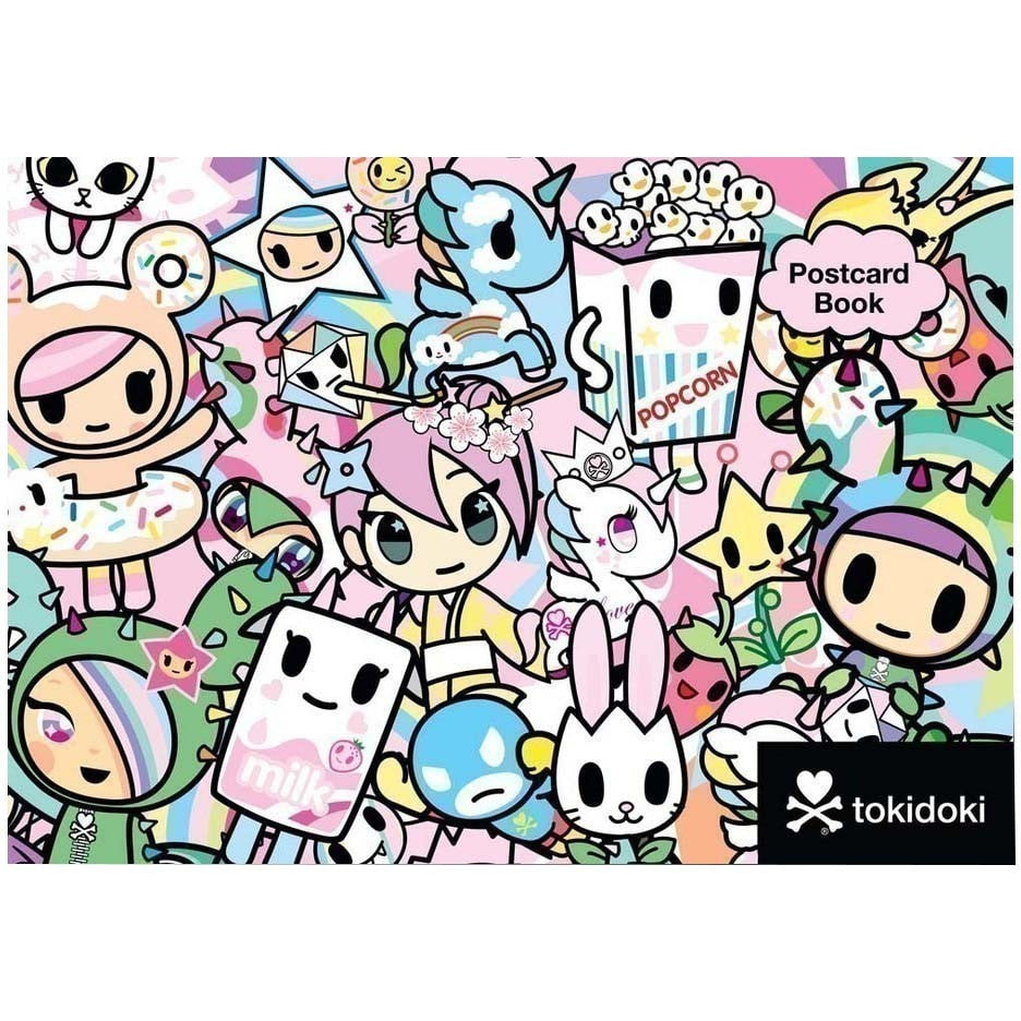 Tokidoki Postcard Book