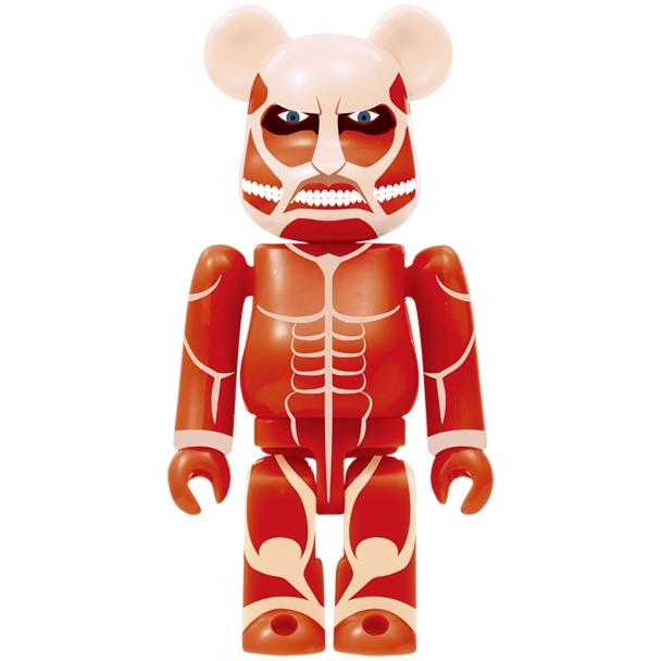 Attack on Titan Be@rbrick Series - Single Blind Box