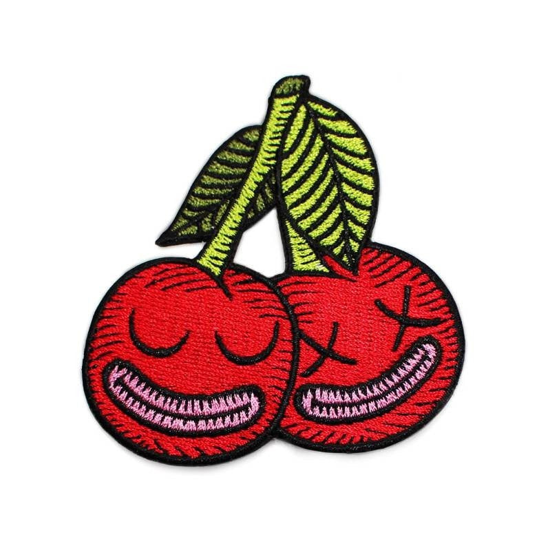 Cherryish Embroidered Patch by Creamlam