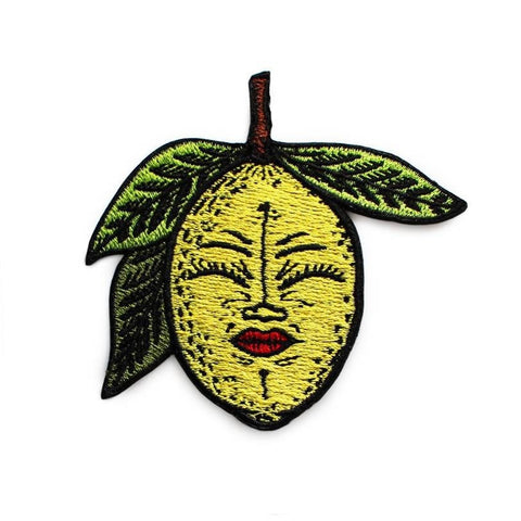Lemony Embroidered Patch by Creamlam