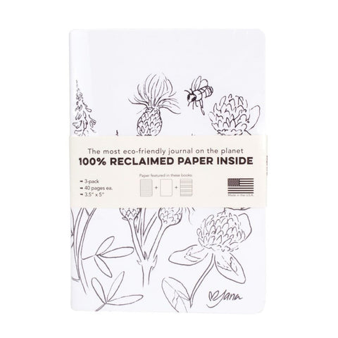 Resketch Journal Artist Cover 3-Pack - Jana Kinsman (White)