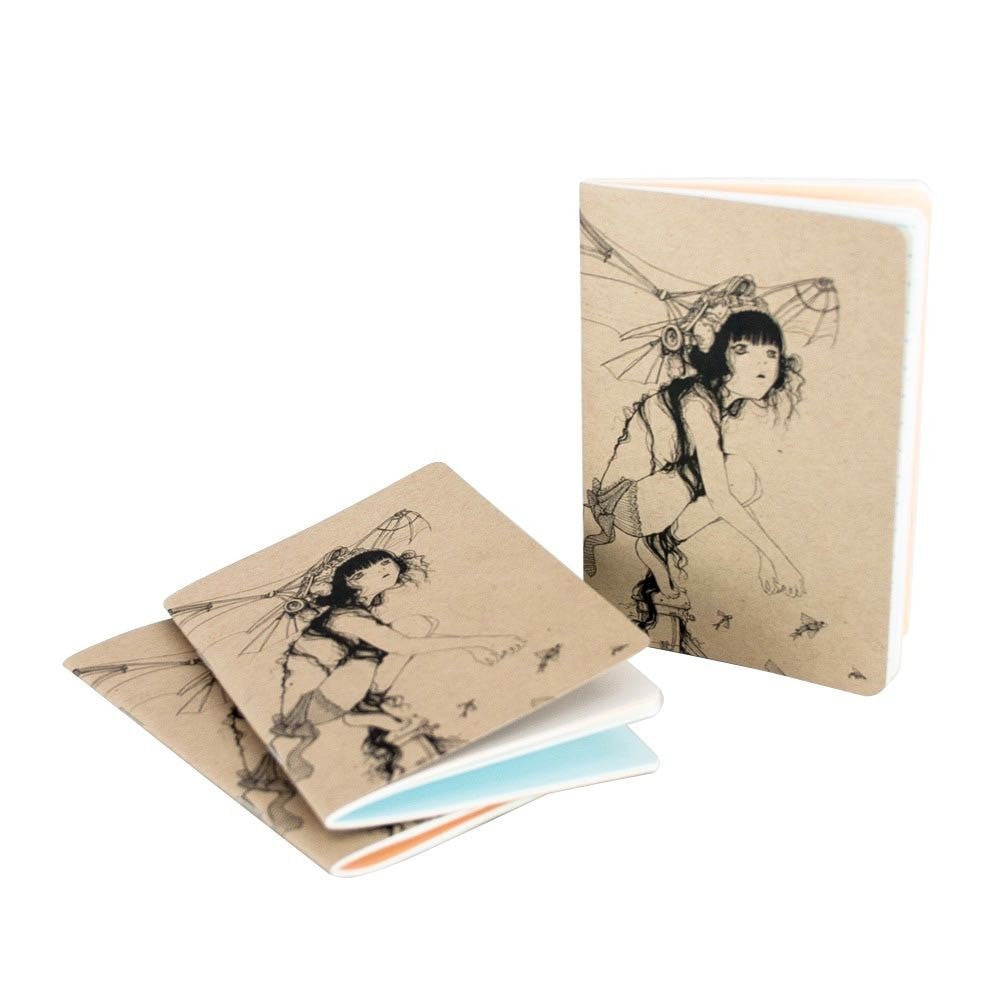Resketch Journal Artist Cover 3-Pack - Camilla d'Errico