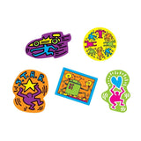 Keith Haring Wooden Magnet Shapes