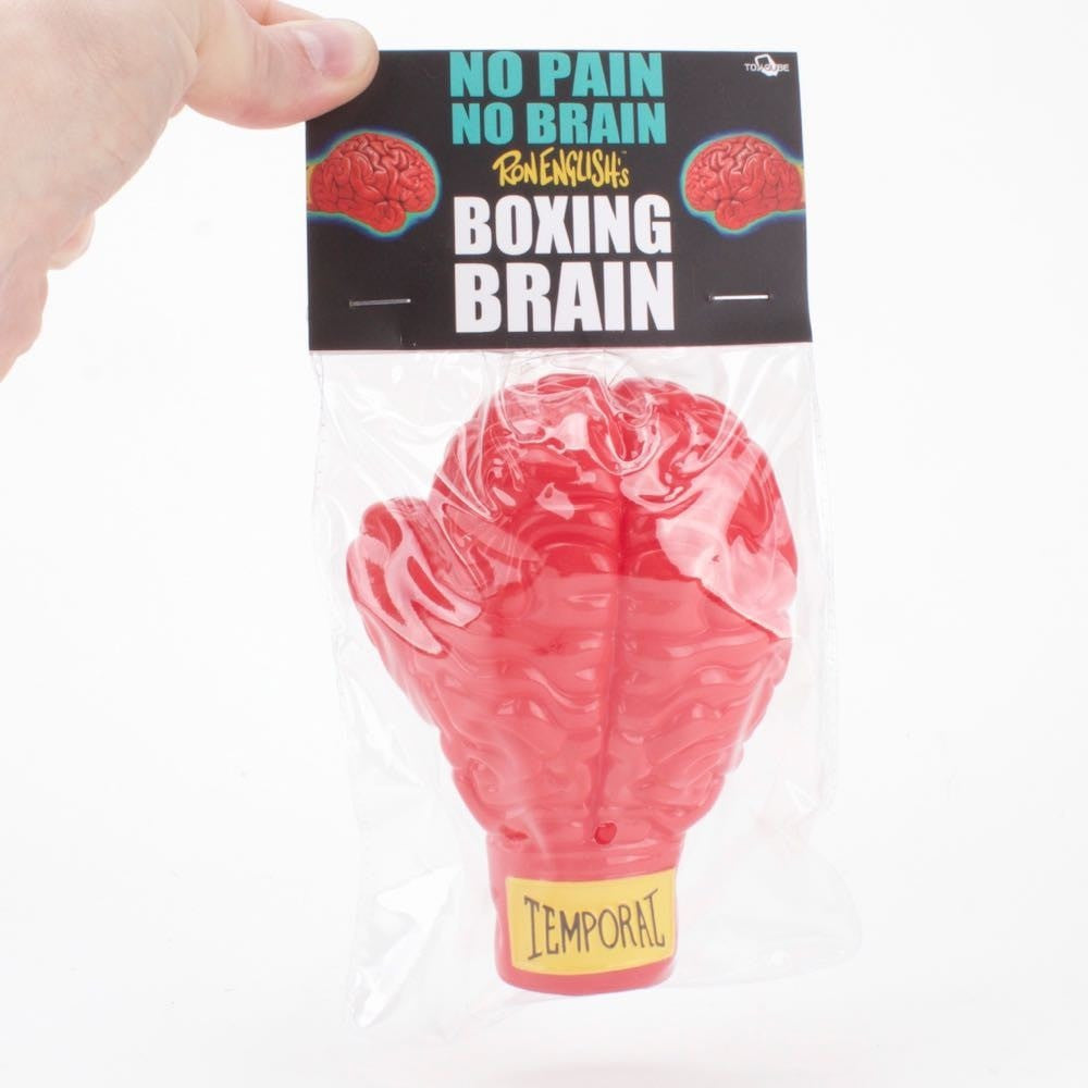 Boxing Brain Red - by Ron English