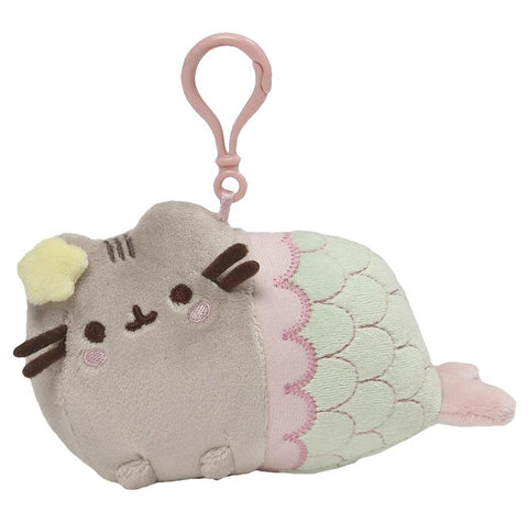Mermaid - Pusheen Backpack Clip