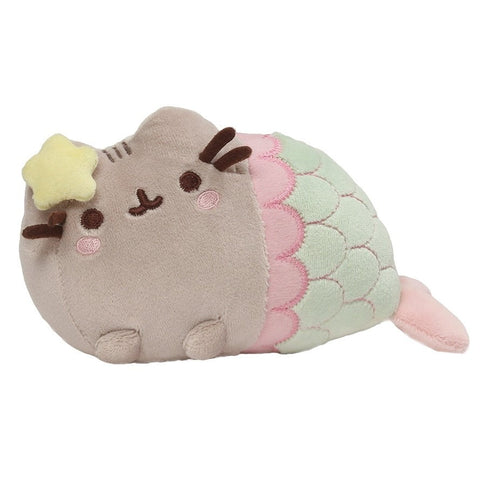 "Star Shell Mermaid Pusheen - 7"" Plush"