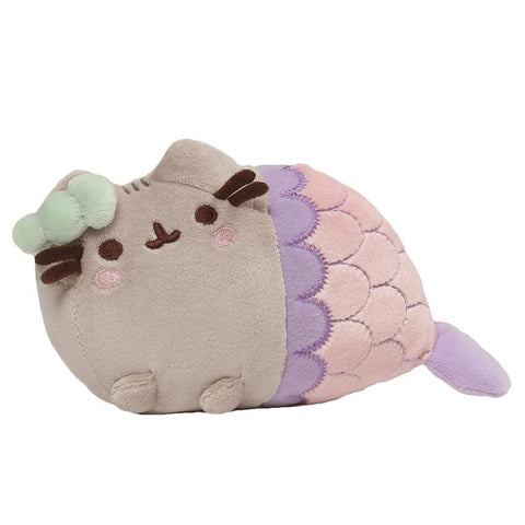 "Spiral Shell Mermaid Pusheen - 7"" Plush"