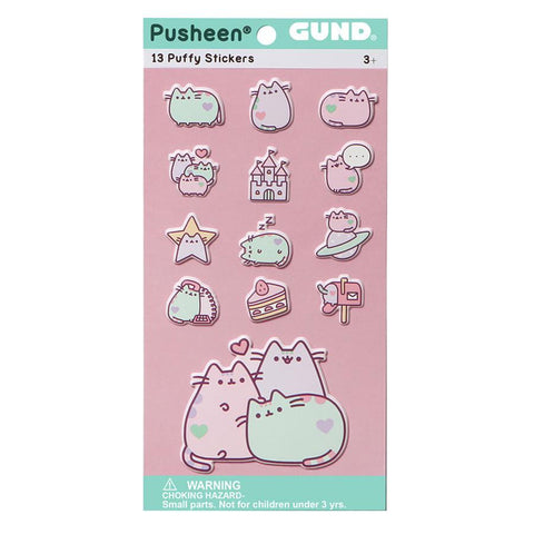 Pusheen Stickers - Pastel