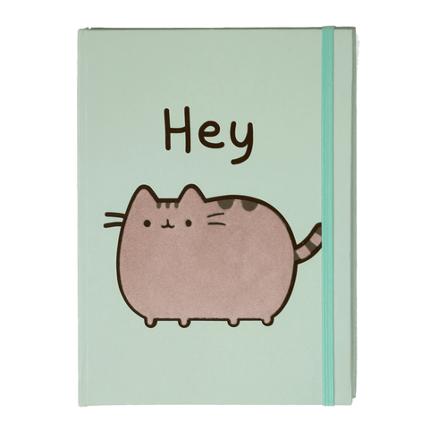 Pusheen Journal - Hey