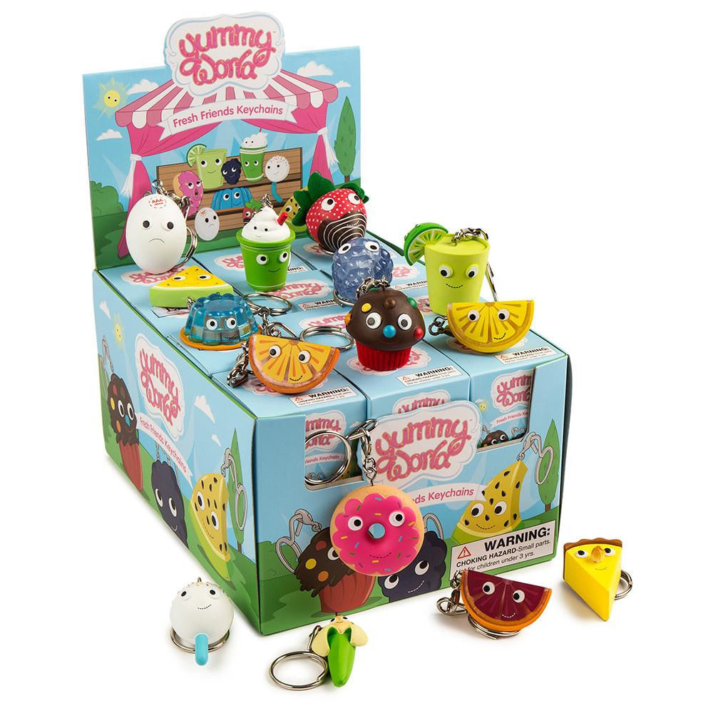 Yummy World Fresh Friends Keychains - Single Blind Box