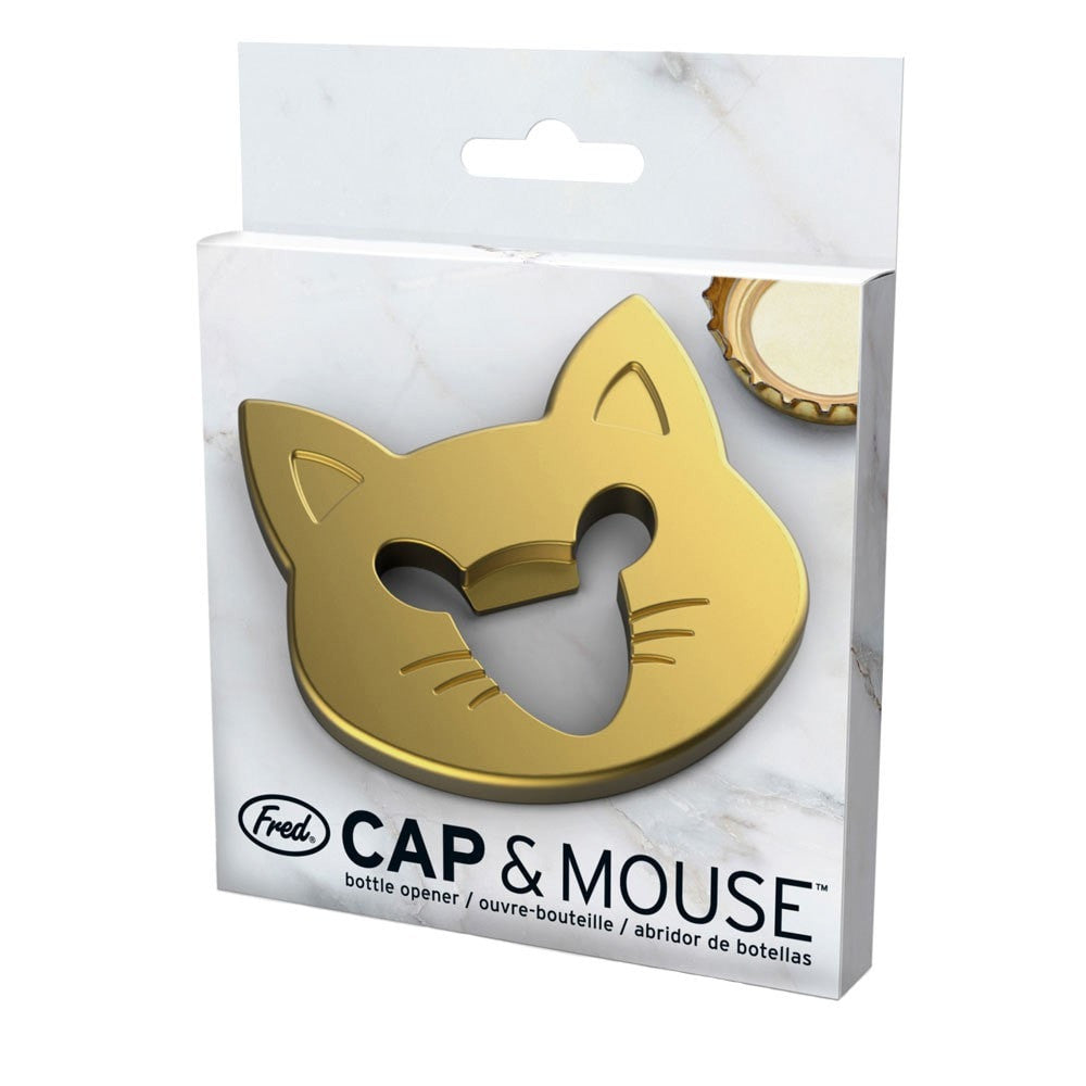Cap and Mouse - Bottle Opener