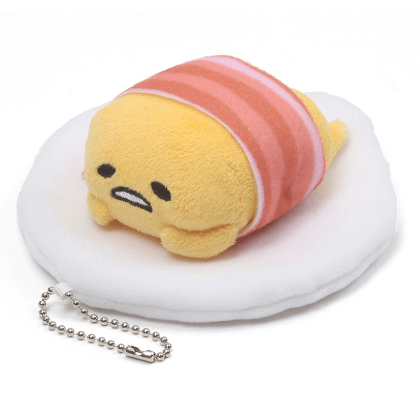 Gudetama Bacon Blanket - Keychain Plush
