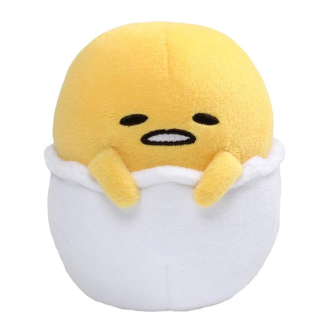 "Gudetama Sitting in Egg - 4.25"" Plush"