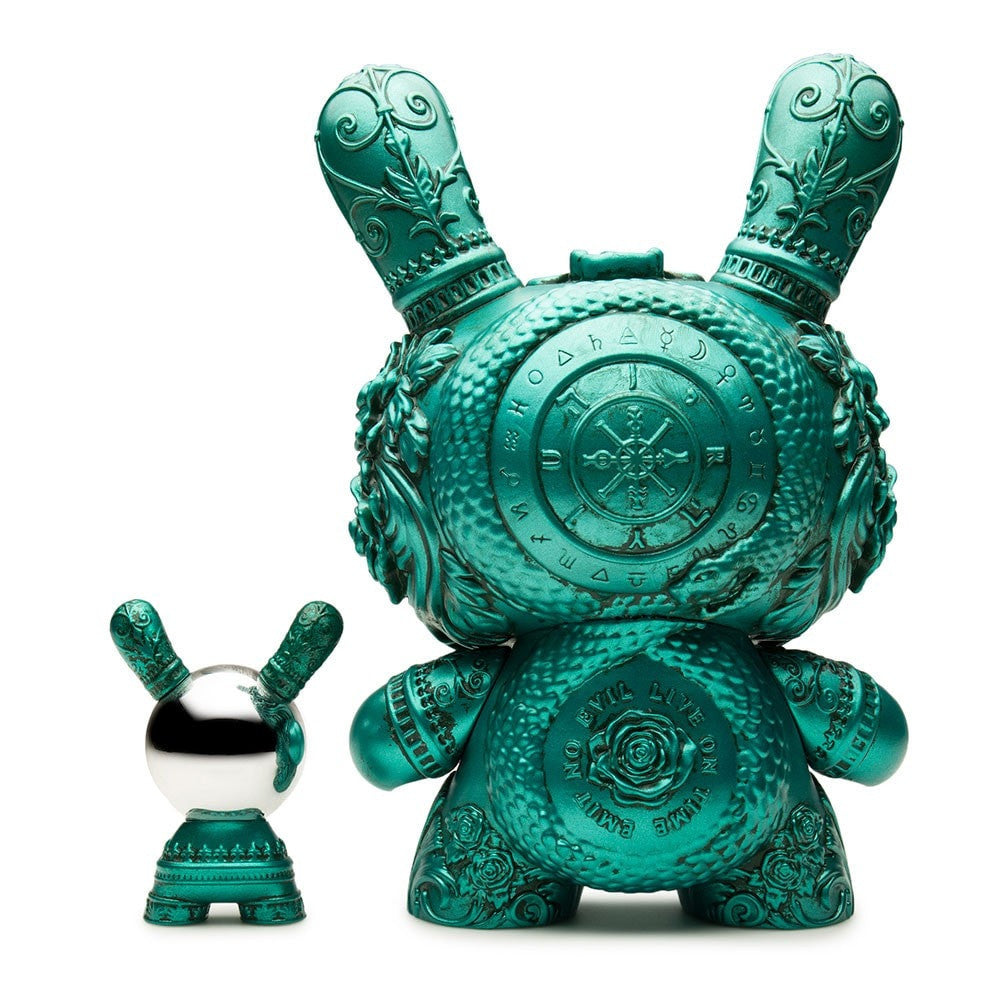 The Clairvoyant 8-Inch Dunny by J*Ryu - Teal