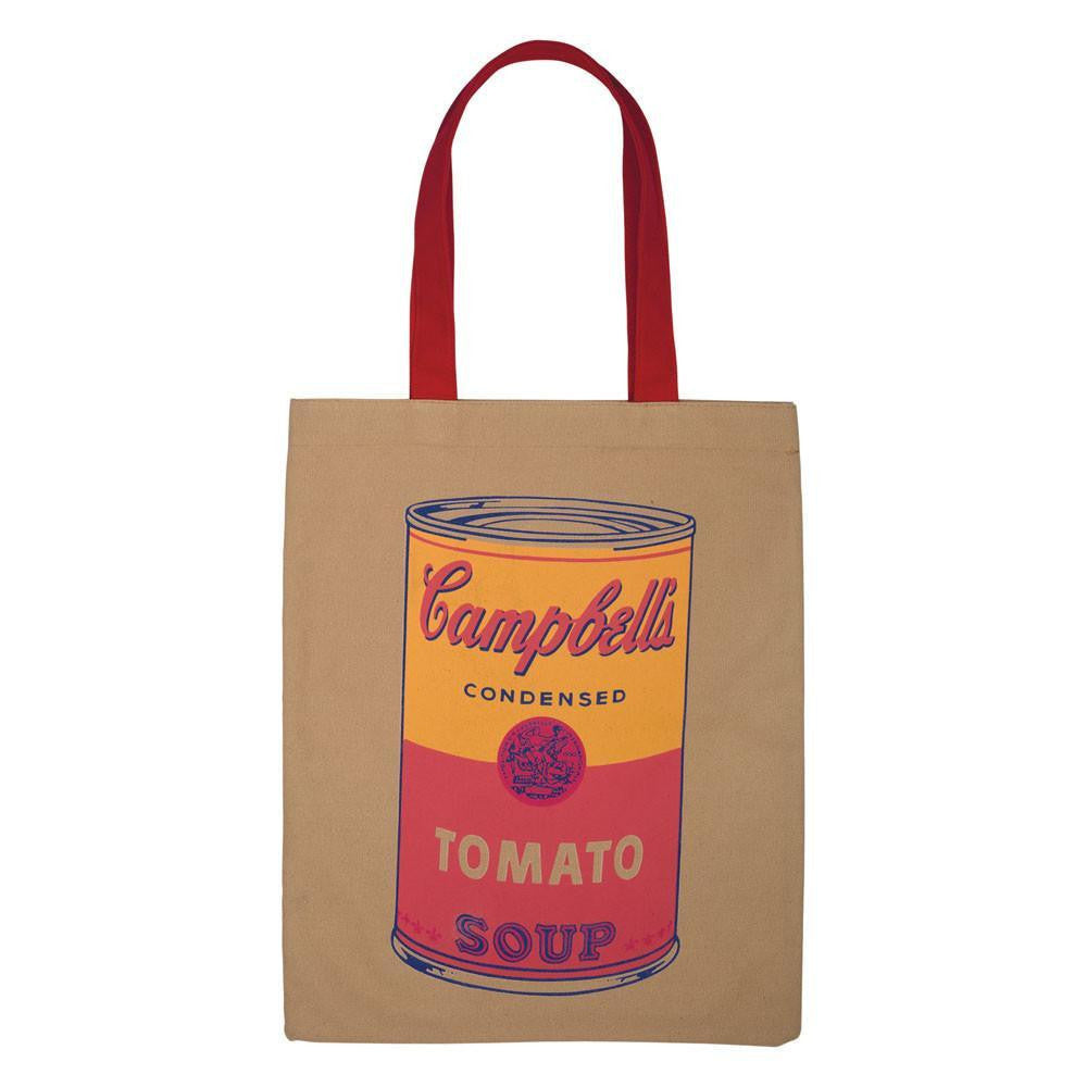 Warhol Campbell's Soup Can Tote Bag