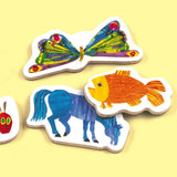 Eric Carle Wooden Magnetic Shapes