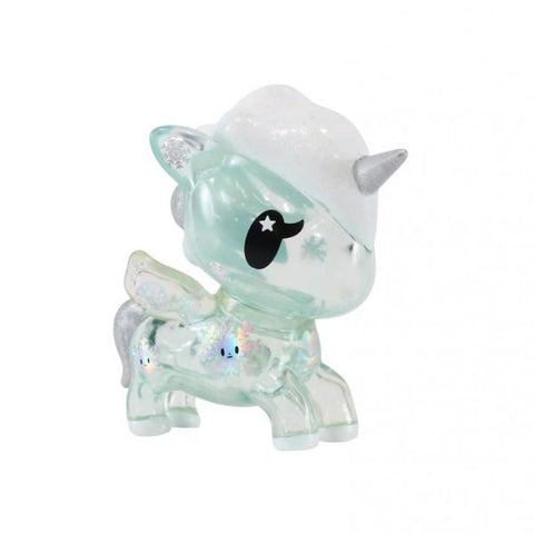 Yuki Holiday Unicorno Vinyl - Clear Blue