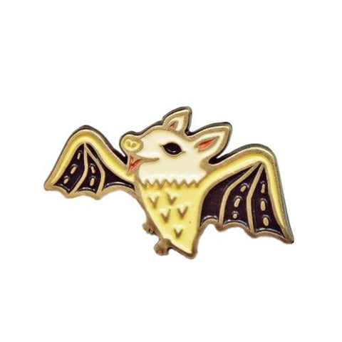 Bat Enamel Pin by boygirlparty