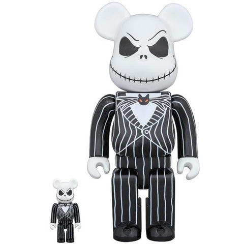 Jack Skellington Be@rbrick 400% + 100% Set