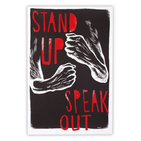 Stand Up, Speak Out by JUDGE