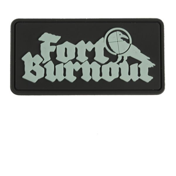Fort Burnout Soft Vinyl Patch - Mint