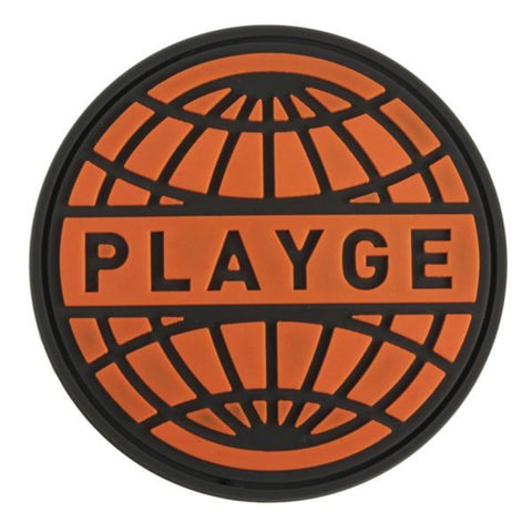 Playge Soft Vinyl Patch - Orange