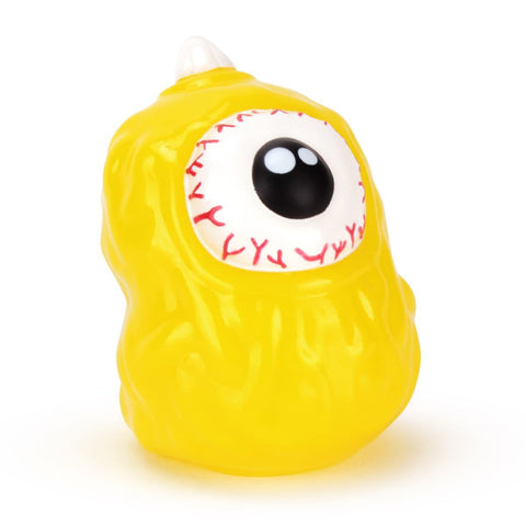 Ghost Eye Finger Puppet - Lemon Yellow